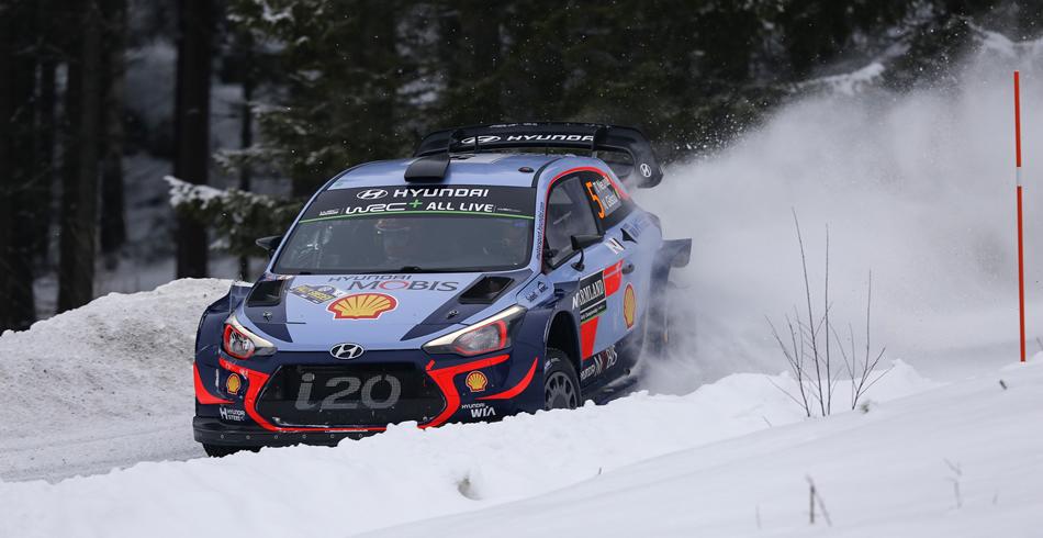 Thierry Neuville gana el Rally de Suecia