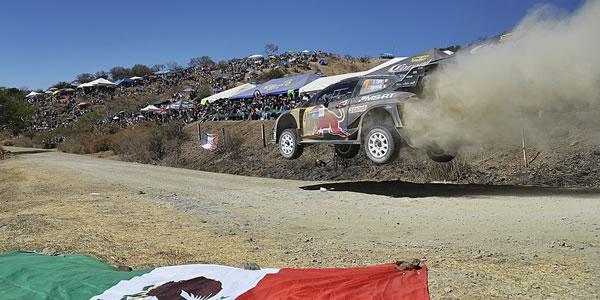 Sebastien Ogier gana en México, Dani Sordo segundo
