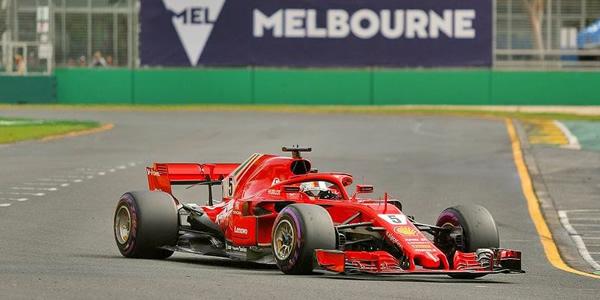 Sebastian Vettel vencedor en Australia