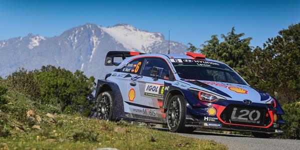 Todo preparado para el Rally de Córcega WRC 2018
