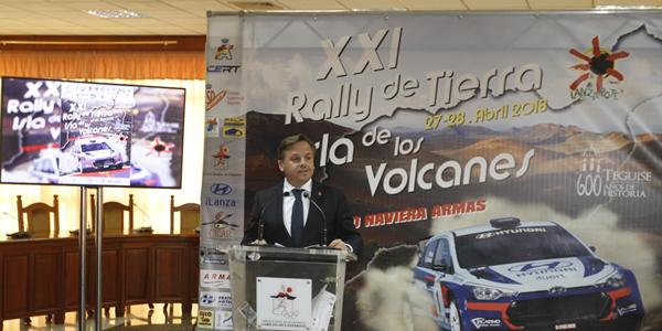Presentado el Rally de Tierra Isla de los Volcanes