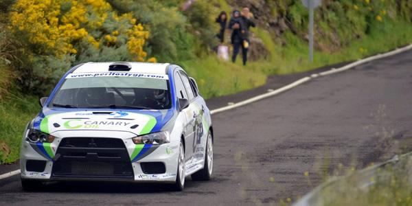 Miguel Cabral, vencedor del Rally Sprint Artenara. Foto: Burbugrafía