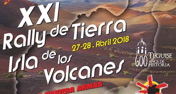 Lista provisional de inscritos del Rallye Isla de Los Volcanes 2018