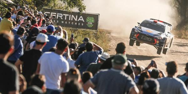 Dani Sordo y Carlos del Barrio a por el Rally de Argentina. Foto: Andre Lavadinho
