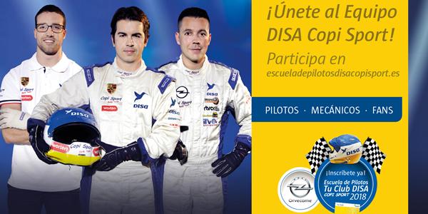 Campaña Escuela de Pilotos Tu Club DISA Copi Sport