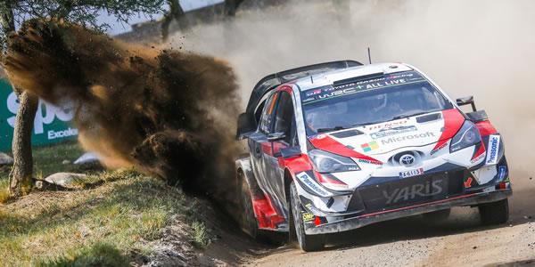 Ott Tänak se lleva el Rally de Argentina 2018