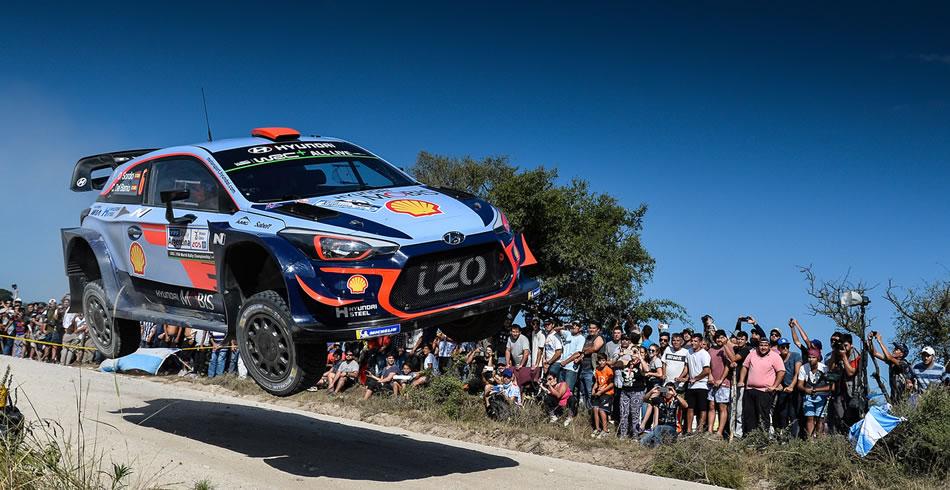 Podio de Dani Sordo en el Rally de Argentina WRC 2018