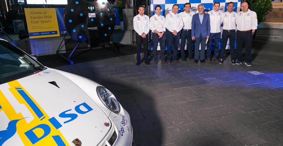 DISA Copi Sport se presentó en el Rallye Islas Canarias