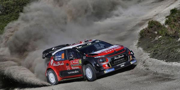 Kris Meeke y Paul Nagle en el Rally de Portugal