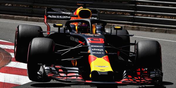 Ricciardo aguantó gran parte de carrera con menos potencia