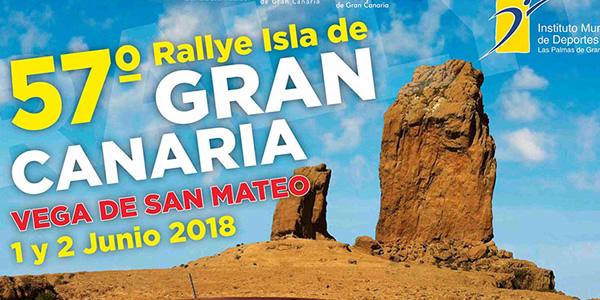Todo listo para el Rallye Isla de Gran Canaria