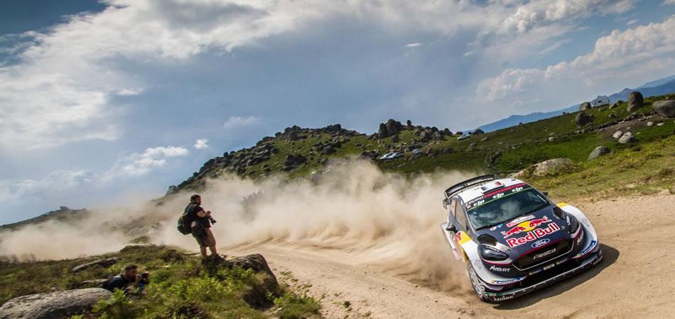 Sebastien Ogier en el pasado Rally de Portugal