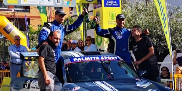 Falcón y Rosario en el podio del Isla de Gran Canaria