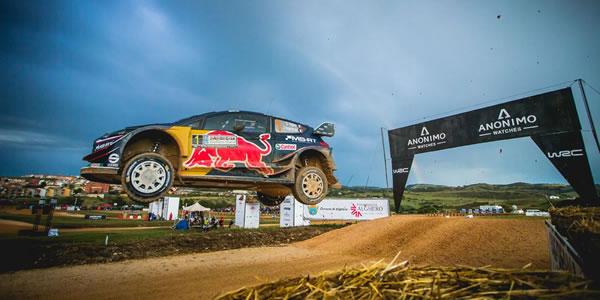 WRC 2018: Ogier y Neuville se la juegan en Cerdeña