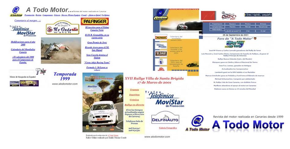 Evolución de A Todo Motor desde 1999 a 2001