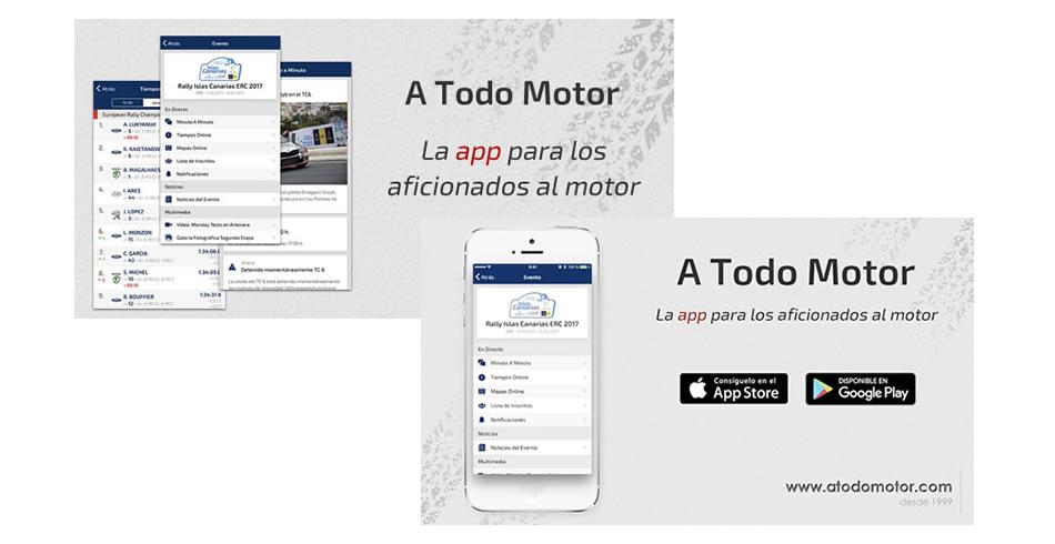 Aplicación móvil de A Todo Motor