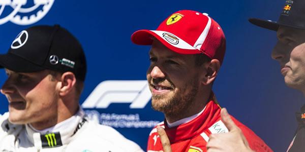 Vettel acorta distancias con victoria en Canadá