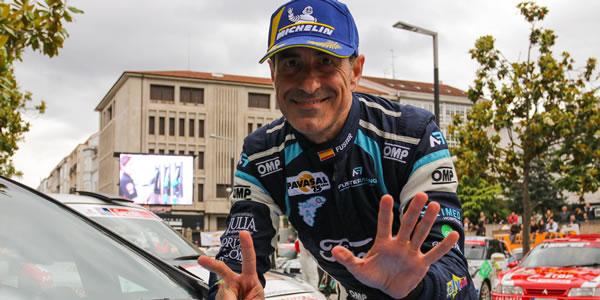 Miguel Fuster, séptima victoria en Ourense