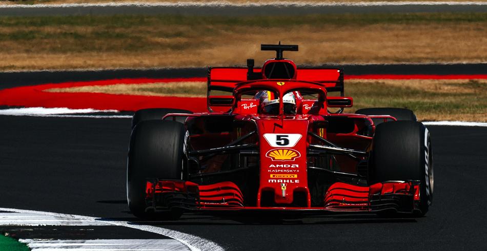 Vettel gana en Silverstone