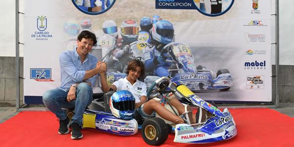 Santi Concepción Jr. irá al Campeonato de Europa