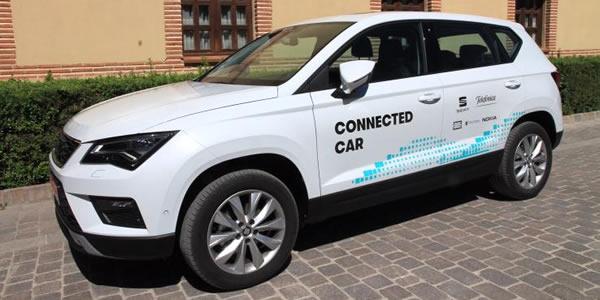 Telefónica y Seat presentan conducción vía red móvil