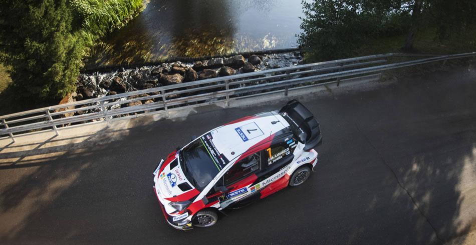 Jari-Matti Latvala finalizaba tercero