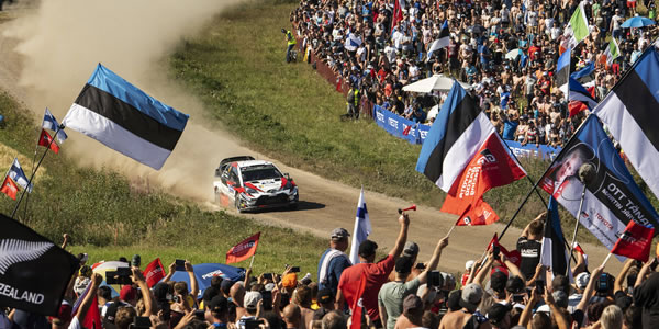 Ott Tänak se lleva la victoria en el Rally de Finlandia