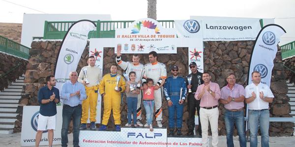 Avance del Rallye Villa de Teguise