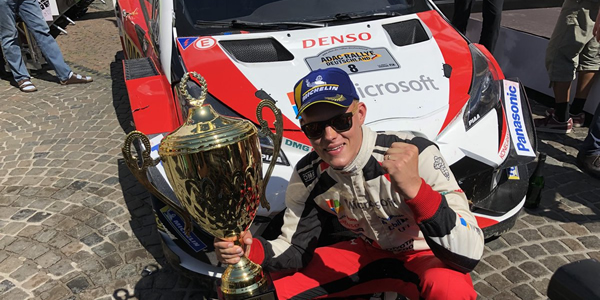 Ott Tanak gana el Rallye de Alemania