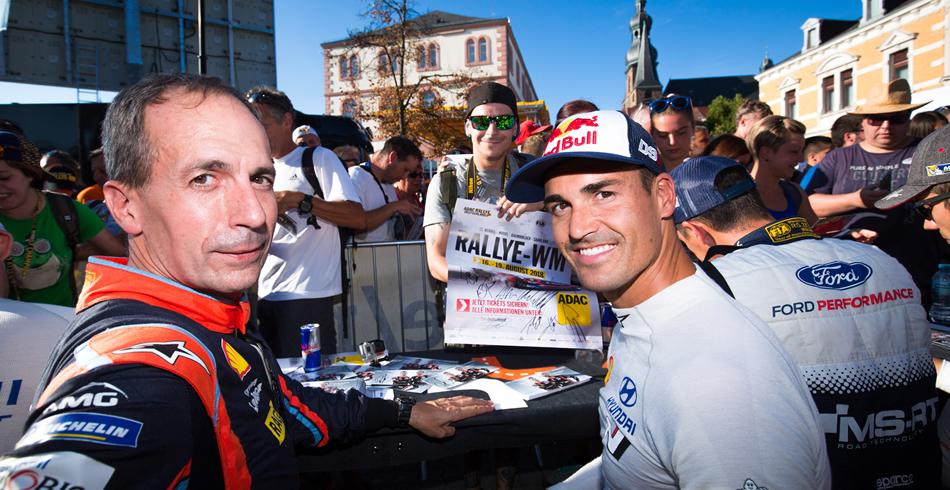 Dani Sordo, listo para el Rally Barum