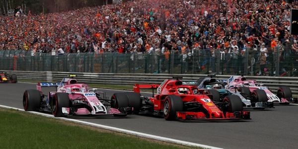 Vettel le gana la partida a Hamilton en Bélgica