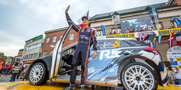 Dani Sordo logra podium en el Rally Barum