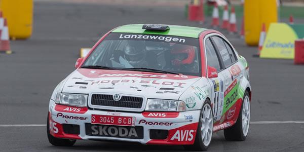 Raúl Quesada vuelve con el Skoda Octavia Kit Car