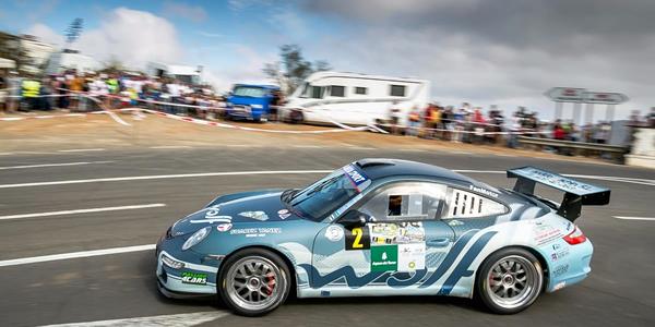 Julián Falcón vencedor en el Rallye Villa de Teror