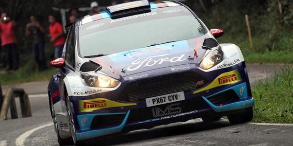 Victoria de Miguel Fuster en el Rallye Villa de Llanes