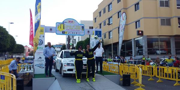 Jesús Tacoronte gana el Rallye de Tierra de G.C.