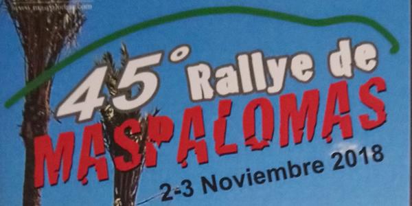 Presentado el 45º Rallye de Maspalomas