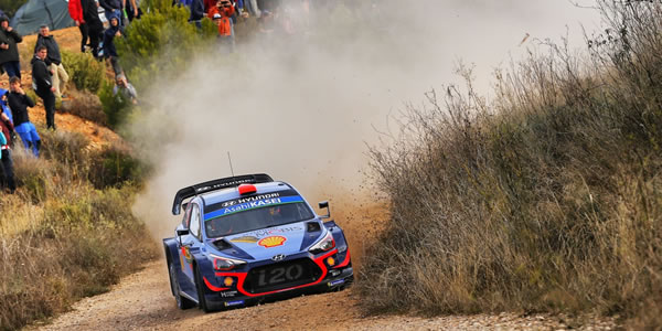 Dani Sordo es segundo en RallyRACC - Rally de España