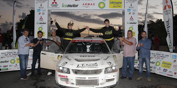 Jesús Tacoronte dominó el I Rally Tierras del Teide