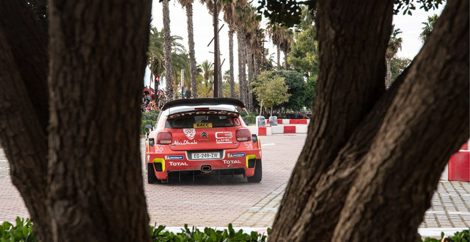 Gran victoria de Loeb en el Rally de España