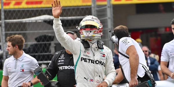 Lewis Hamilton, pentacampeon del mundo de F1
