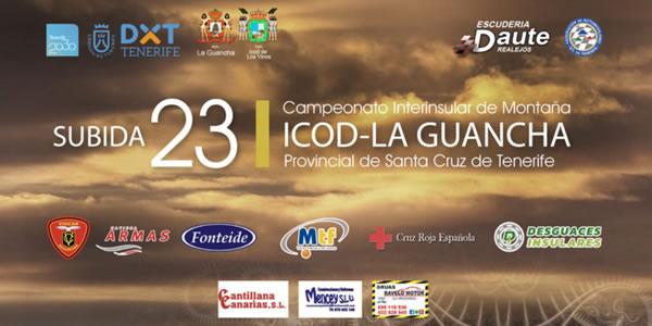 Lista de Inscritos de la 23 Subida Icod - La Guancha