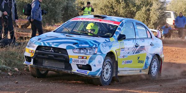 Doble triunfo de Gustavo Sosa en el Rally Ciudad de Granada
