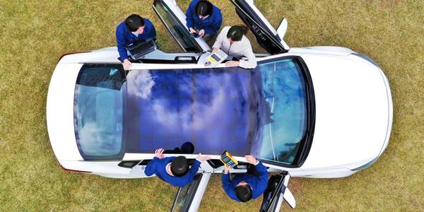 Hyundai revela una tecnología de carga solar