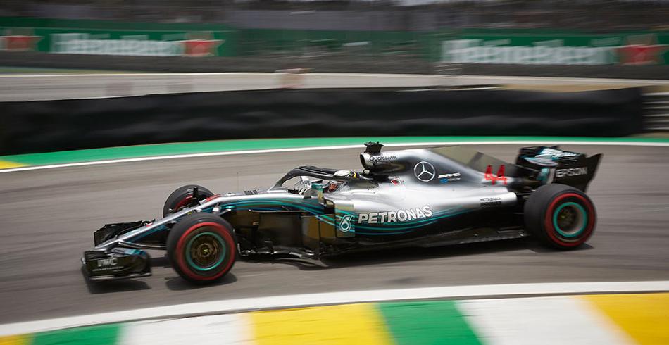 Hamilton gana en el G.P. de Brasil 2018