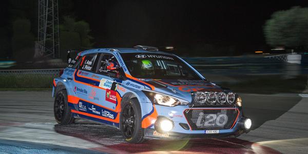 Iván Ares se la juega en el Rallye de Madrid 2018