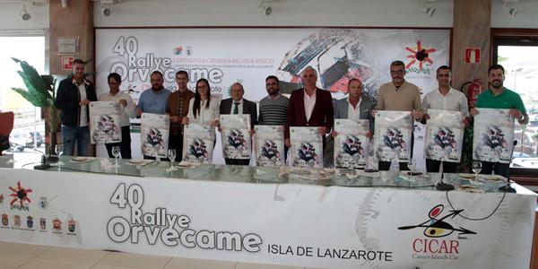 Presentado el 40º Orvecame Isla de Lanzarote