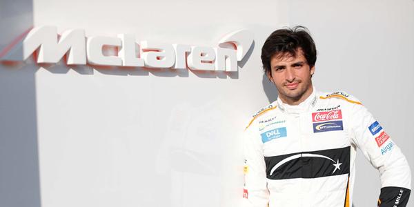 Carlos Sainz empieza a trabajar con McLaren