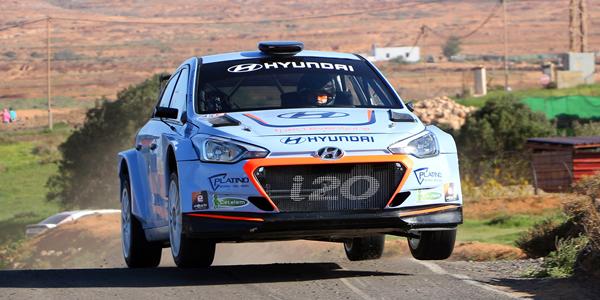 Victoria de Pernía en el Rally Sprint Vega Nueva