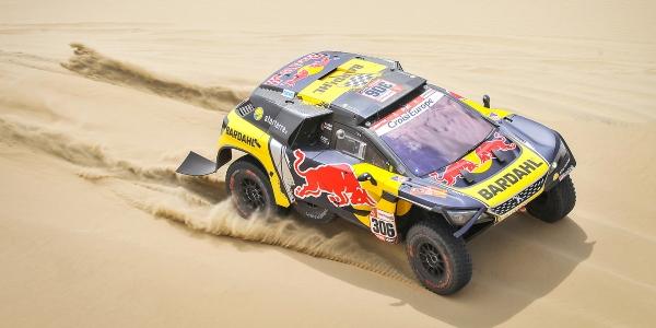 Sebastien Loeb gana la segunda etapa del Dakar 2019